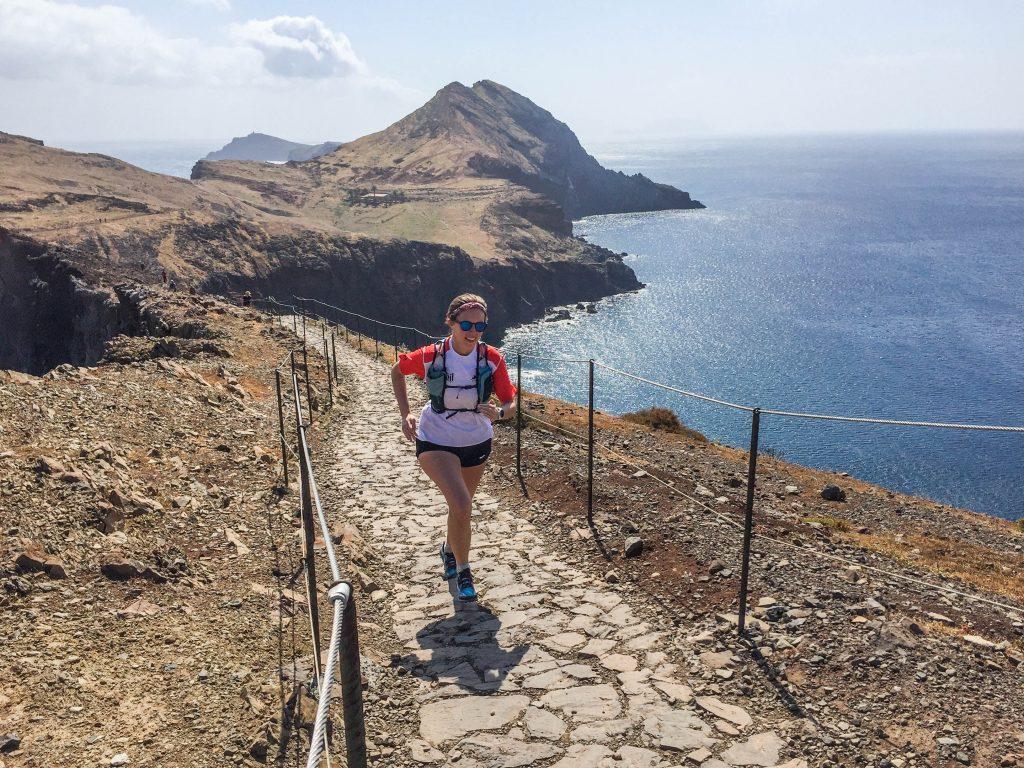 Ponta São Lourenço eastern peninsula trail running