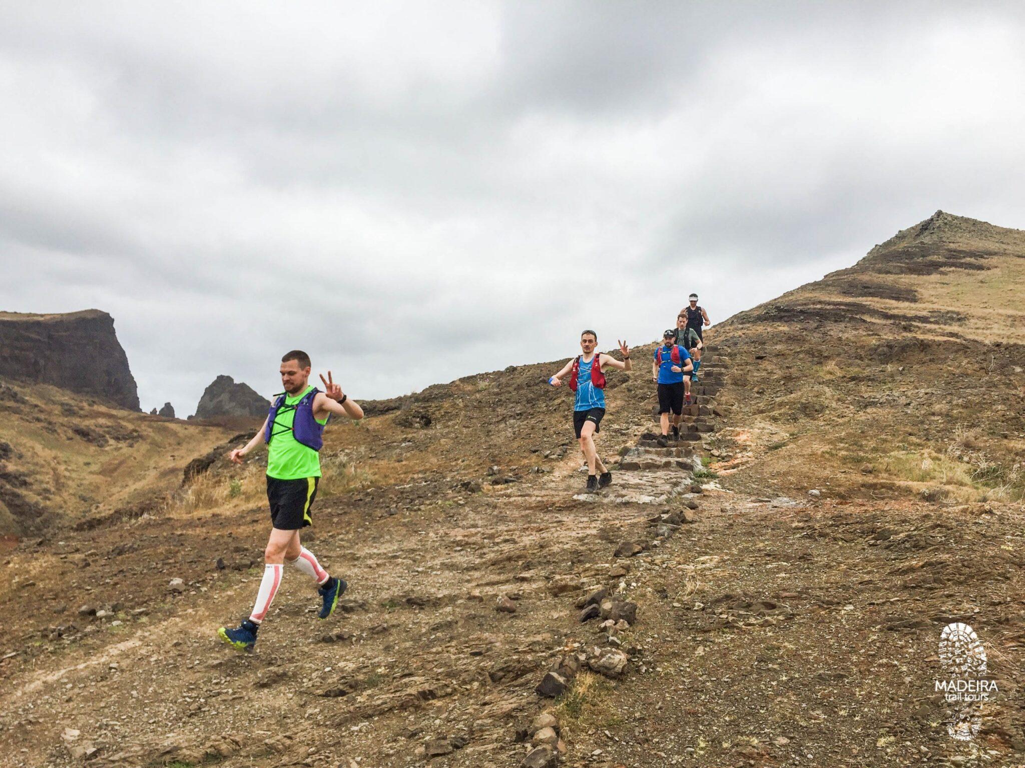 Trail Running in Ponta São Lourenço