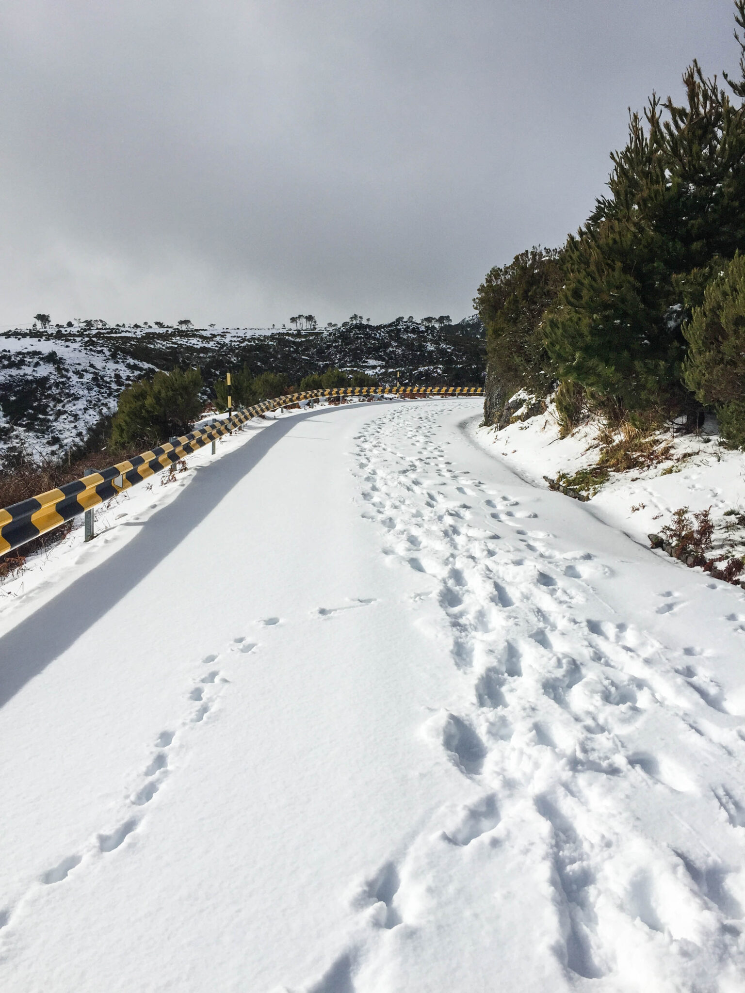 Snow in Madeira